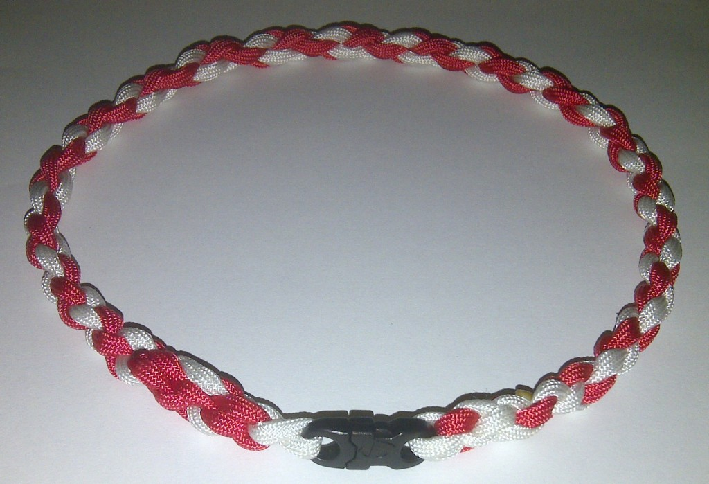 Boston Red Sox Red & White Twisted Sports Necklace
